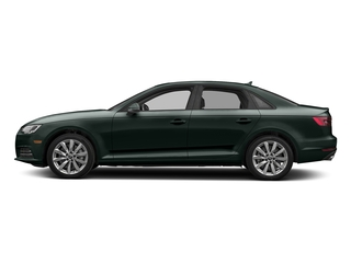 Gotland Green Metallic 2017 Audi A4 Pictures A4 Sedan 4D 2.0T Premium AWD photos side view
