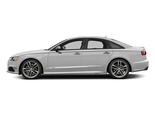 Glacier White Metallic 2017 Audi S6 Pictures S6 4.0 TFSI Prestige photos side view