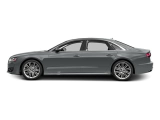 Monsoon Gray Metallic 2017 Audi A8 L Pictures A8 L Sedan 4D 4.0T L Sport AWD V8 Turbo photos side view