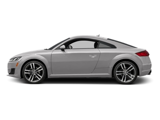 Florett Silver Metallic 2017 Audi TT Coupe Pictures TT Coupe 2D AWD photos side view