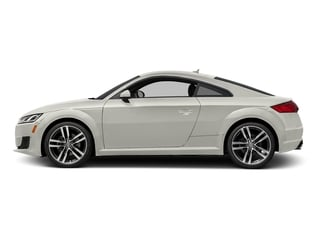 Ibis White 2017 Audi TT Coupe Pictures TT Coupe 2D AWD photos side view