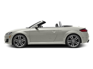 Ibis White/Black Roof 2017 Audi TT Roadster Pictures TT Roadster 2.0 TFSI photos side view