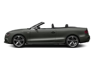 Daytona Gray Pearl Effect/Black Roof 2017 Audi S5 Cabriolet Pictures S5 Cabriolet Convertible 2D S5 Premium Plus AWD photos side view