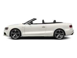 Ibis White/Black Roof 2017 Audi S5 Cabriolet Pictures S5 Cabriolet Convertible 2D S5 Premium Plus AWD photos side view