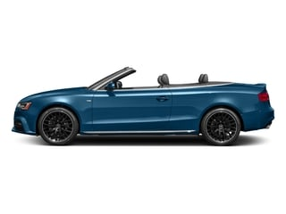 Sepang Blue Pearl Effect/Black Roof 2017 Audi A5 Cabriolet Pictures A5 Cabriolet Convertible 2D Sport AWD photos side view