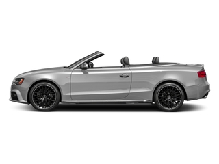 Florett Silver Metallic/Black Roof 2017 Audi A5 Cabriolet Pictures A5 Cabriolet Convertible 2D Sport AWD photos side view