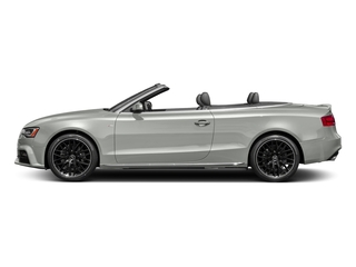 Suzuka Gray Metallic/Black Roof 2017 Audi A5 Cabriolet Pictures A5 Cabriolet Convertible 2D Sport AWD photos side view