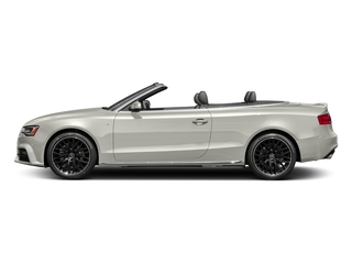 Ibis White/Black Roof 2017 Audi A5 Cabriolet Pictures A5 Cabriolet Convertible 2D Sport AWD photos side view