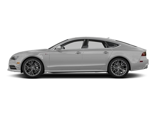 Glacier White Metallic 2017 Audi A7 Pictures A7 Sedan 4D Competition Prestige AWD photos side view