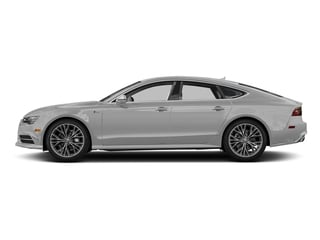 Glacier White Metallic 2017 Audi A7 Pictures A7 3.0 TFSI Competition Prestige photos side view