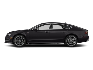 Oolong Gray Metallic 2017 Audi A7 Pictures A7 Sedan 4D 3.0T Premium Plus AWD photos side view