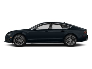 Moonlight Blue Metallic 2017 Audi A7 Pictures A7 3.0 TFSI Competition Prestige photos side view