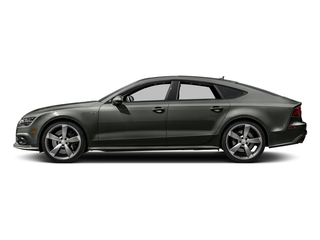 Daytona Gray Pearl Effect 2017 Audi S7 Pictures S7 Sedan 4D S7 Prestige AWD photos side view
