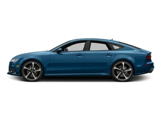 Sepang Blue Pearl Effect 2017 Audi RS 7 Pictures RS 7 Sedan 4D RS7 Performance AWD photos side view