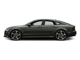 Daytona Gray Matte Effect 2017 Audi RS 7 Pictures RS 7 Sedan 4D RS7 Performance AWD photos side view