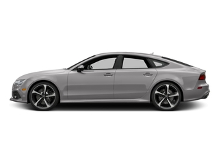 Florett Silver Metallic 2017 Audi RS 7 Pictures RS 7 Sedan 4D RS7 Performance AWD photos side view