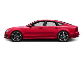 Misano Red Pearl Effect 2017 Audi RS 7 Pictures RS 7 Sedan 4D RS7 Performance AWD photos side view