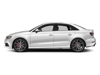 Glacier White Metallic 2017 Audi S3 Pictures S3 Sedan 4D S3 Premium Plus AWD I4 Turb photos side view