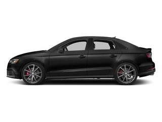 Brilliant Black 2017 Audi S3 Pictures S3 Sedan 4D S3 Prestige AWD I4 Turbo photos side view