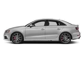 Florett Silver Metallic 2017 Audi S3 Pictures S3 Sedan 4D S3 Premium Plus AWD I4 Turb photos side view