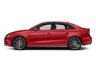 Tango Red Metallic 2017 Audi S3 Pictures S3 Sedan 4D S3 Premium Plus AWD I4 Turb photos side view
