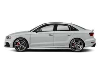 Glacier White Metallic 2017 Audi RS 3 Pictures RS 3 Sedan 4D RS3 AWD photos side view