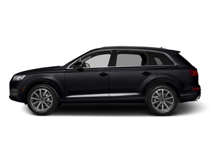 Orca Black Metallic 2017 Audi Q7 Pictures Q7 2.0 TFSI Premium photos side view