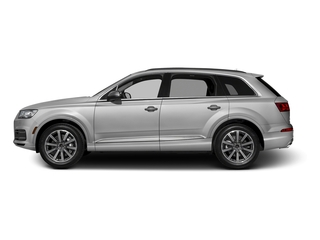 Glacier White Metallic 2017 Audi Q7 Pictures Q7 2.0 TFSI Premium photos side view