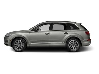 Graphite Gray Metallic 2017 Audi Q7 Pictures Q7 2.0 TFSI Premium photos side view