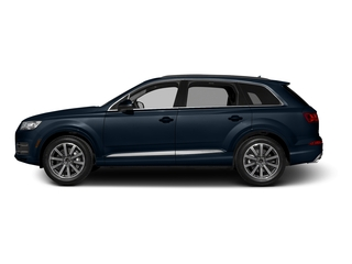 Ink Blue Metallic 2017 Audi Q7 Pictures Q7 2.0 TFSI Premium photos side view