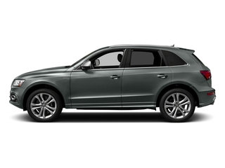 Monsoon Gray Metallic 2017 Audi SQ5 Pictures SQ5 Utility 4D Prestige AWD V6 photos side view