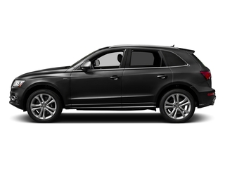 Brilliant Black 2017 Audi SQ5 Pictures SQ5 Utility 4D Prestige AWD V6 photos side view