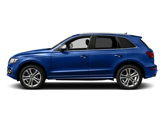 Sepang Blue Pearl Effect 2017 Audi SQ5 Pictures SQ5 Utility 4D Premium Plus AWD V6 photos side view