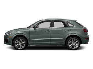 Monsoon Gray Metallic 2017 Audi Q3 Pictures Q3 2.0 TFSI Premium quattro AWD photos side view