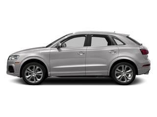 Cuvee Silver Metallic 2017 Audi Q3 Pictures Q3 2.0 TFSI Premium quattro AWD photos side view