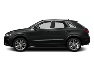Mythos Black Metallic 2017 Audi Q3 Pictures Q3 2.0 TFSI Premium quattro AWD photos side view