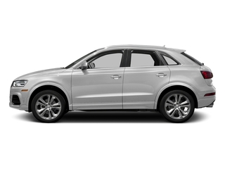 Glacier White Metallic 2017 Audi Q3 Pictures Q3 2.0 TFSI Premium quattro AWD photos side view