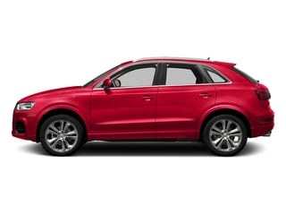 Misano Red Pearl Effect 2017 Audi Q3 Pictures Q3 2.0 TFSI Premium quattro AWD photos side view