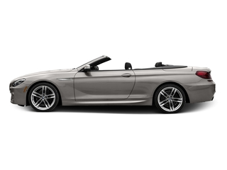 Cashmere Silver Metallic 2017 BMW 6 Series Pictures 6 Series Convertible 2D 650i V8 photos side view