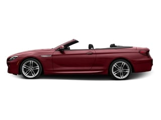 Melbourne Red Metallic 2017 BMW 6 Series Pictures 6 Series Convertible 2D 650i V8 photos side view