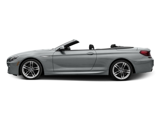 Glacier Silver Metallic 2017 BMW 6 Series Pictures 6 Series Convertible 2D 650i V8 photos side view