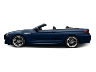 Mediterranean Blue Metallic 2017 BMW 6 Series Pictures 6 Series Convertible 2D 650i V8 photos side view