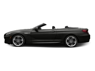 Citrin Black Metallic 2017 BMW 6 Series Pictures 6 Series Convertible 2D 650i V8 photos side view