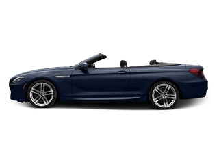 Tanzanite Blue Metallic 2017 BMW 6 Series Pictures 6 Series Convertible 2D 650i V8 photos side view