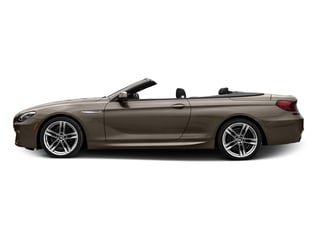 Frozen Bronze Metallic 2017 BMW 6 Series Pictures 6 Series Convertible 2D 650i V8 photos side view