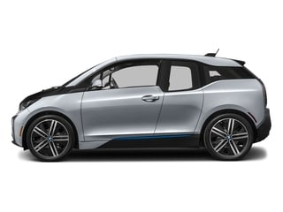Ionic Silver Metallic w/BMW i Frozen Blue Accent 2017 BMW i3 Pictures i3 Hatchback 4D 94 AH w/Range Extender photos side view