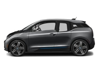 Mineral Gray w/BMW i Frozen Blue Accent 2017 BMW i3 Pictures i3 Hatchback 4D 94 AH w/Range Extender photos side view