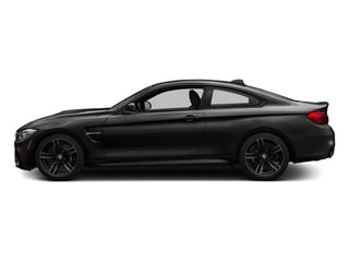 Black Sapphire Metallic 2017 BMW M4 Pictures M4 Coupe 2D M4 I6 Turbo photos side view