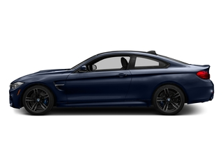 Tanzanite Blue Metallic 2017 BMW M4 Pictures M4 Coupe 2D M4 I6 Turbo photos side view