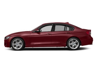 Melbourne Red Metallic 2017 BMW 3 Series Pictures 3 Series Sedan 4D 340i I6 Turbo photos side view